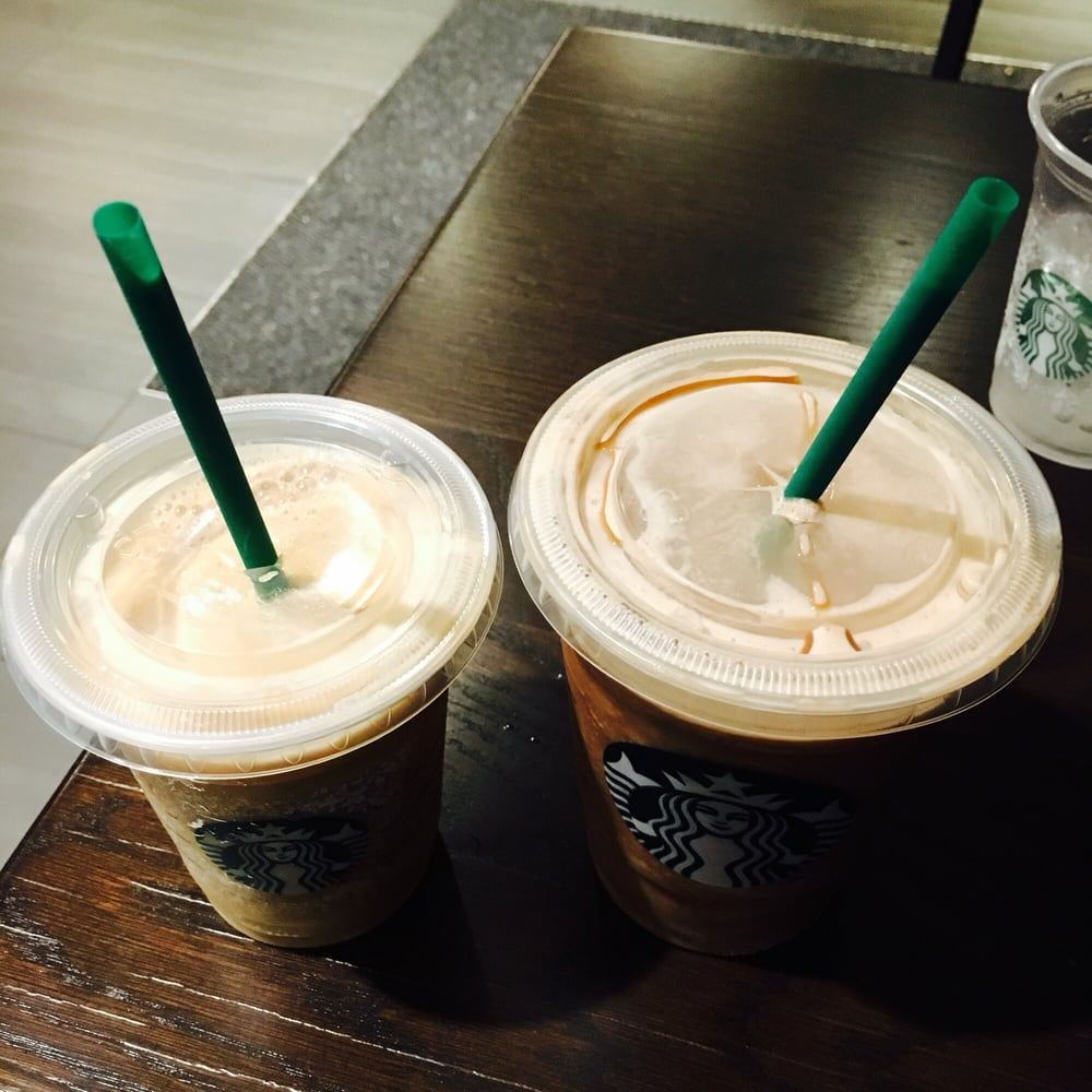 Photo Of Starbucks   Sacramento, CA, United States. Tall Caramel Light  Frappuccino And