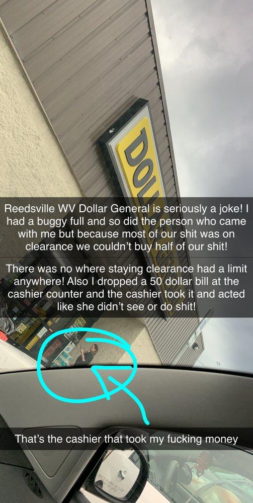 Dollar General: Reedsville, WV