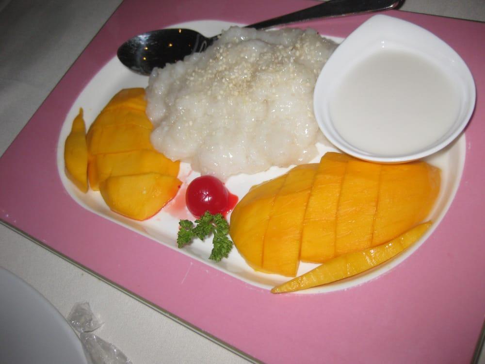 Mango sticky rice dessert yelp for Jasmine cuisine