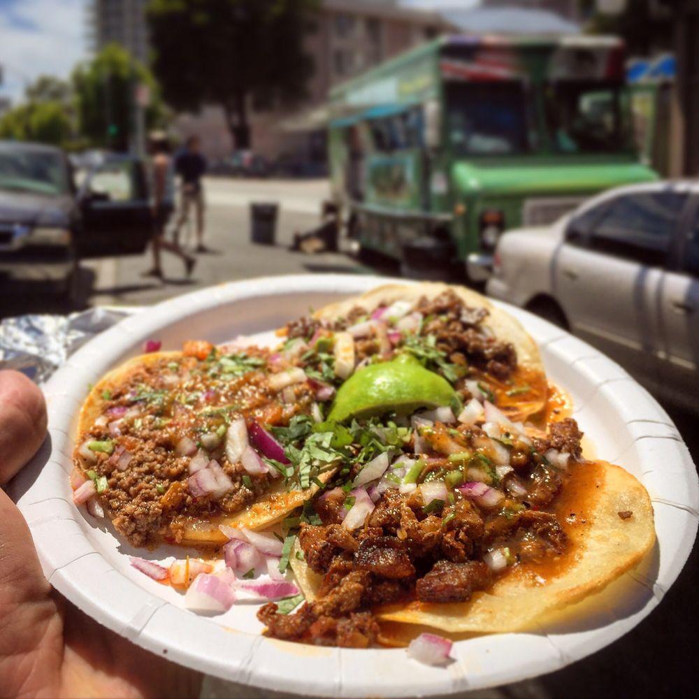 Food from Tacos Mi Rancho
