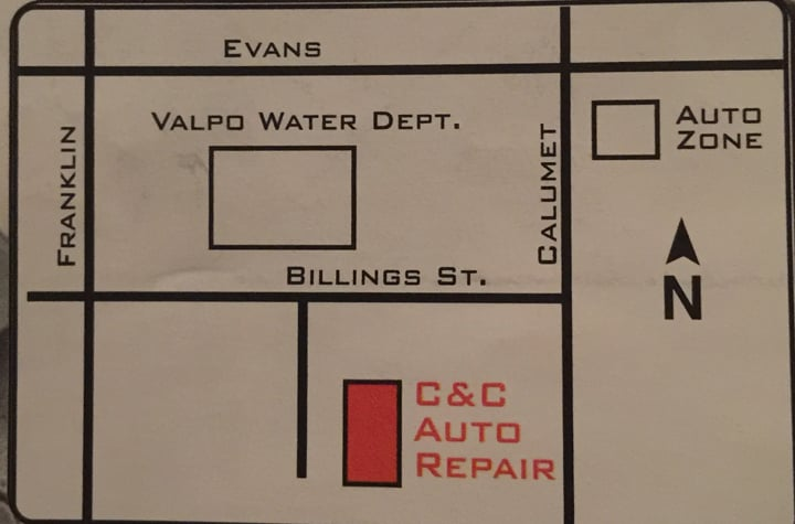 C & C Auto Repair: 204 Billings St, Valparaiso, IN
