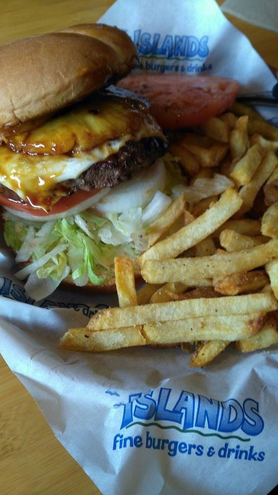 Photo Of Islands Restaurant San Go Ca United States The Hawaiian Burger