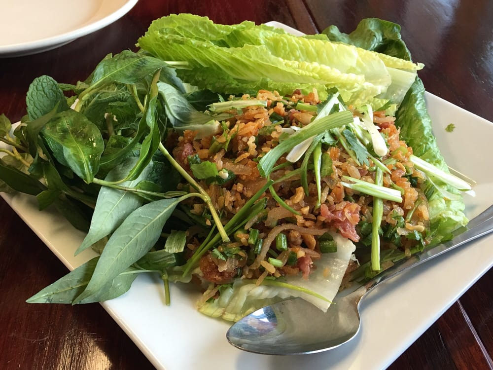 Nam kao tod this was on point yelp for Ano thai lao cuisine