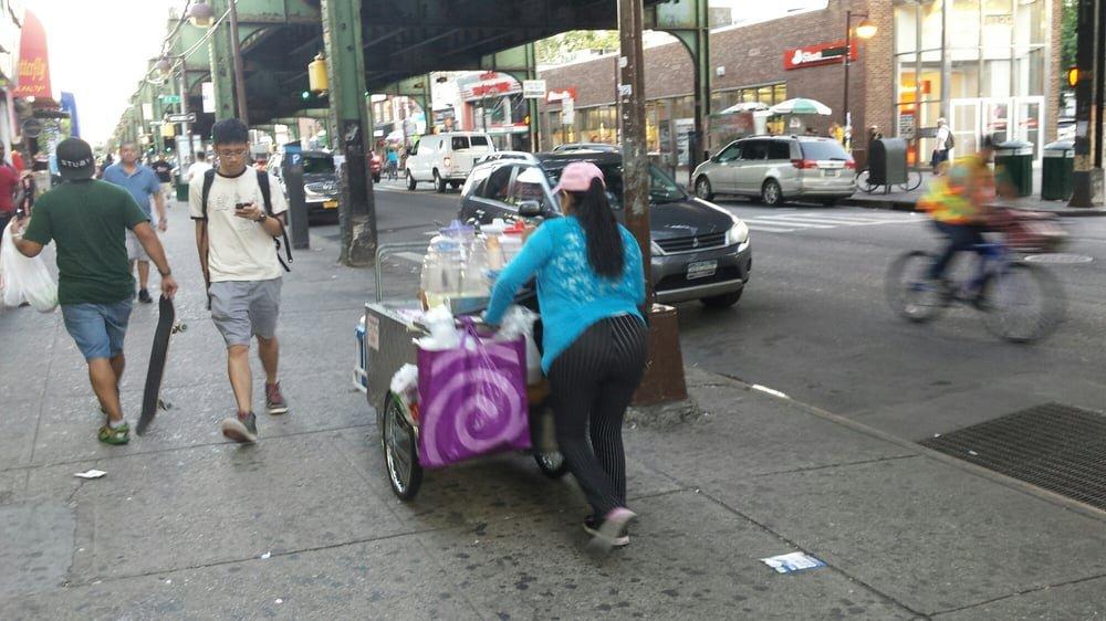 Jugos Cart: 83-1-83-7 Roosevelt Ave, Jackson Heights, NY