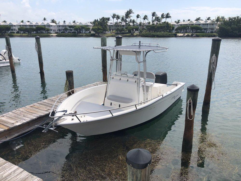 Fish 'n Fun Boat Rentals: 1149 Greenbriar Rd, Marathon, FL