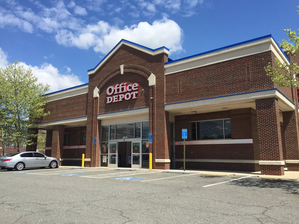 Office depot 12 reviews office equipment 6711 n kings hwy alexandria va phone number - Office depot store near me ...