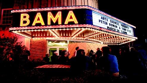 Bama Theatre: 600 Greensboro Ave, Tuscaloosa, AL