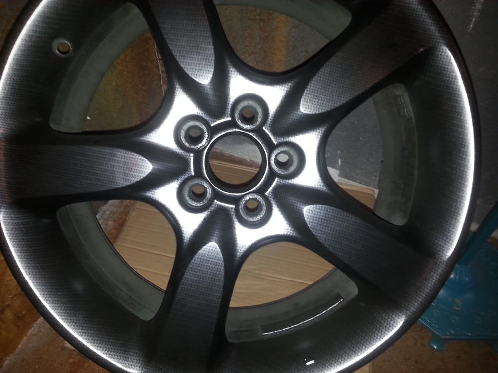 Hydro Dipped Rims In Carbon Fiber Done In House At Rbi Yelp