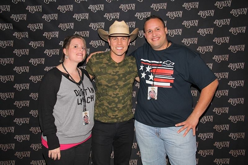 The meet and greet for dustin lynch what a concert it was yelp m4hsunfo