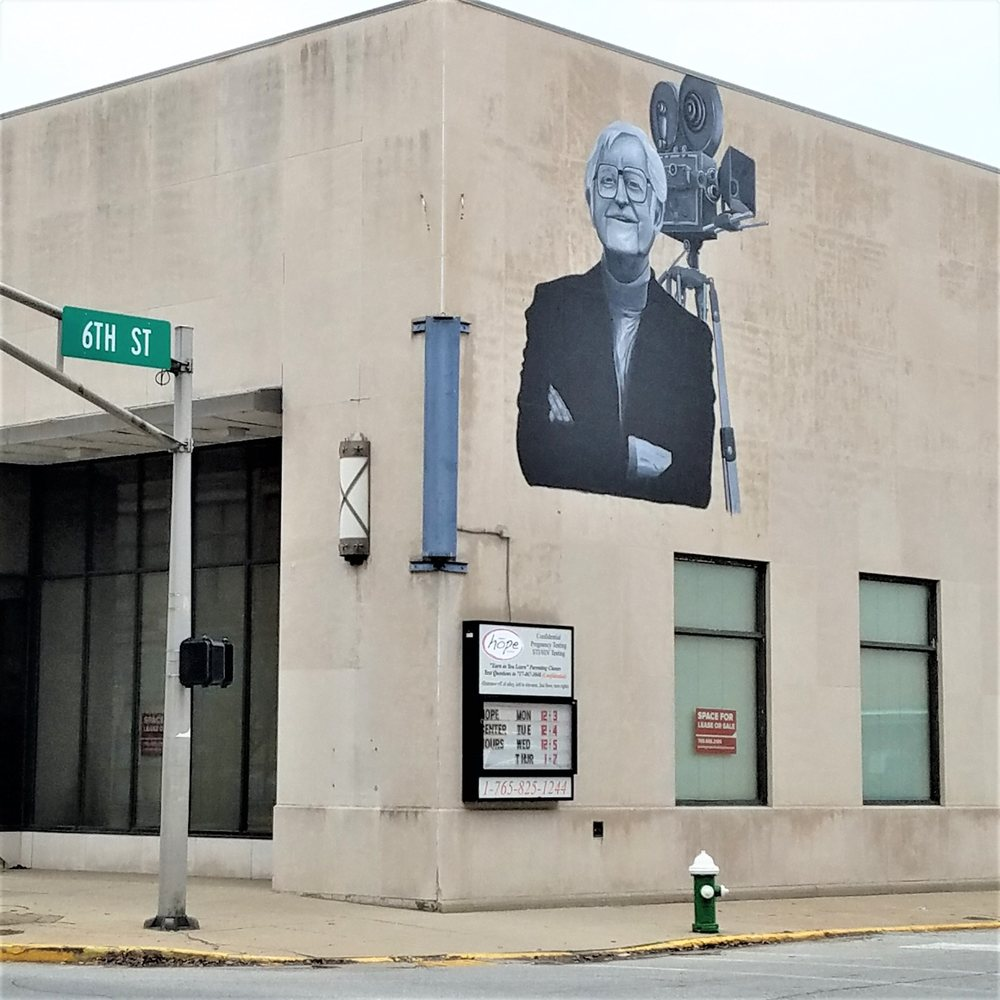 Robert E Wise mural: 531 N Central Ave, Connersville, IN