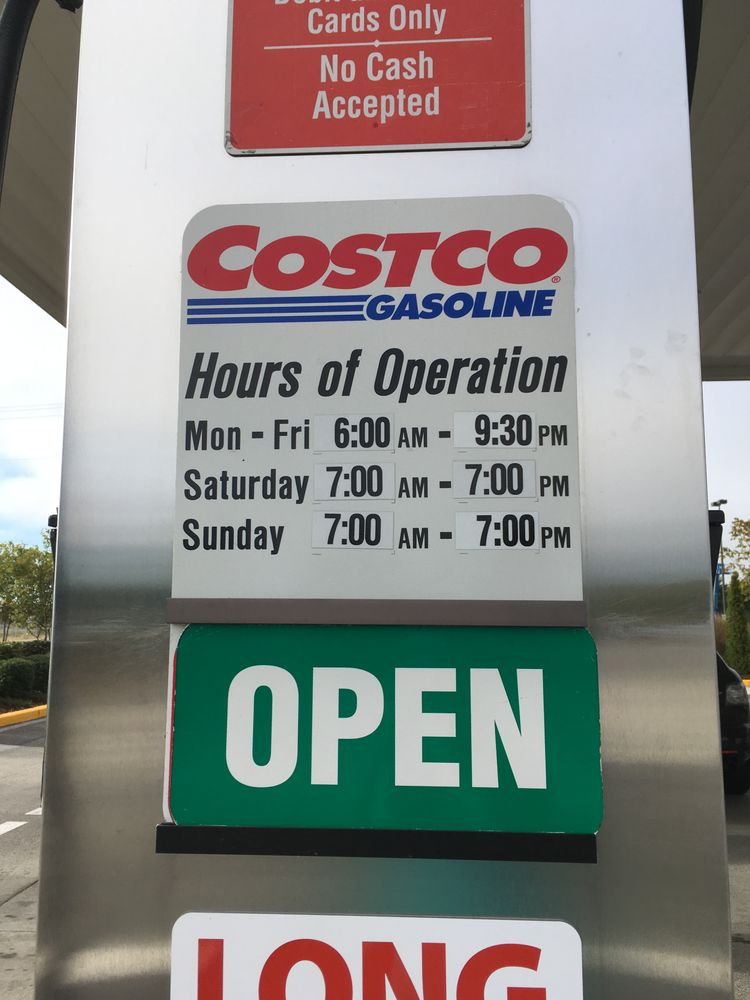 Costco Gas: 16616 Twin Lakes Ave, Marysville, WA