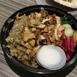 photo of mezza lebanese kitchen halifax ns canada chicken shawarma plate with - Lebanese Kitchen