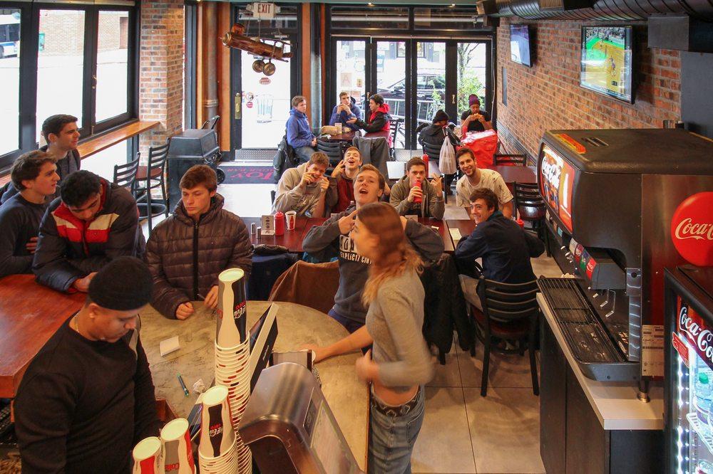 Joy burger bar 244 photos 476 reviews burgers 1567 for Harlem food bar yelp