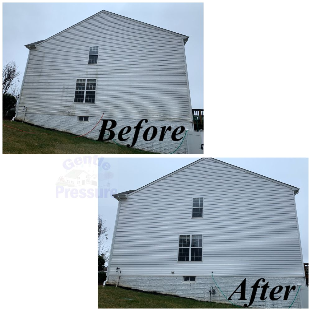 Gentle Pressure Roof & Exterior Cleaning: 438 Dogwood Dr, Lusby, MD