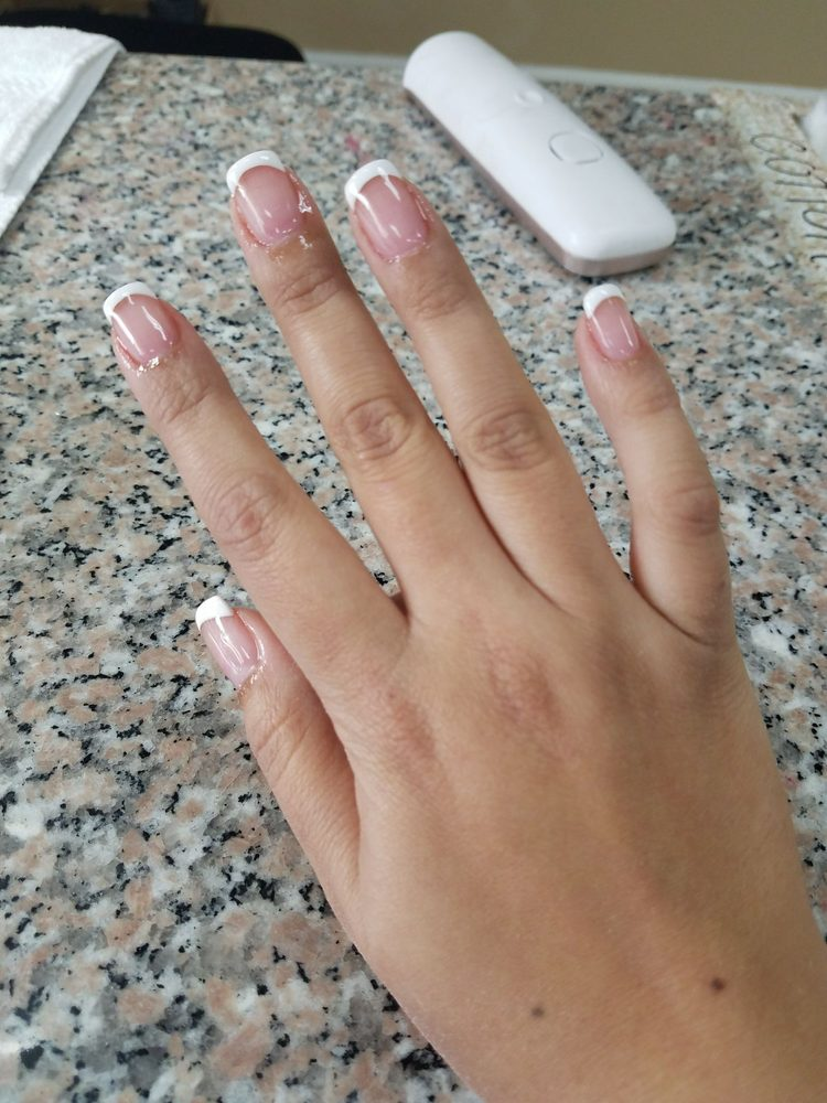 Photo Of Cly Nails Monterey Ca United States Hard Gel Overlay On