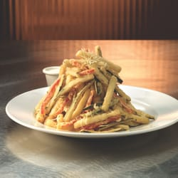 Photo Of Landry S Seafood House Huntsville Al United States Fried Zucchini