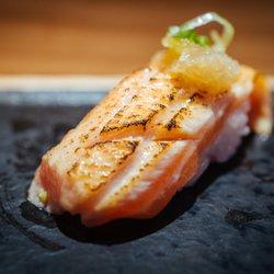 Photo Of Sushi Kashiba Seattle Wa United States Seared Salmon Rich