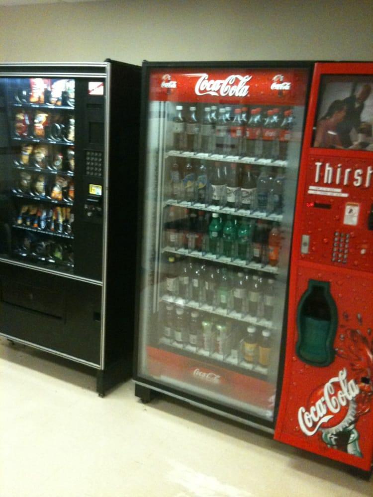 Menu For Olive Garden: Vending Machines In ER Waiting Room