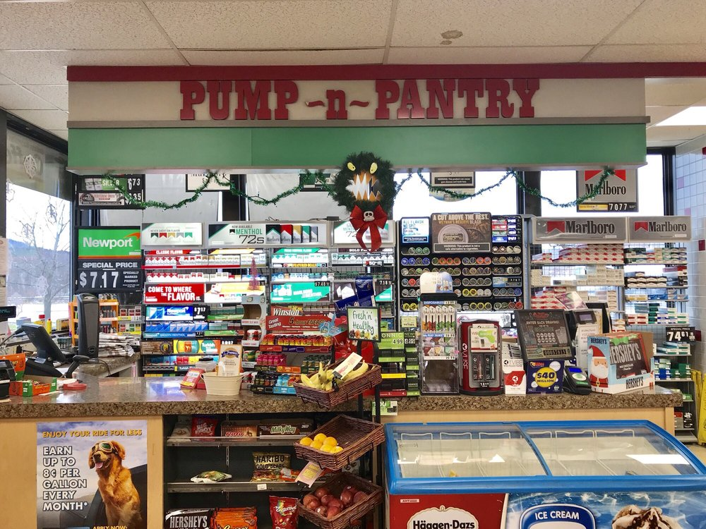 Pump & Pantry: Exit 230 Off I-81, Great Bend, PA