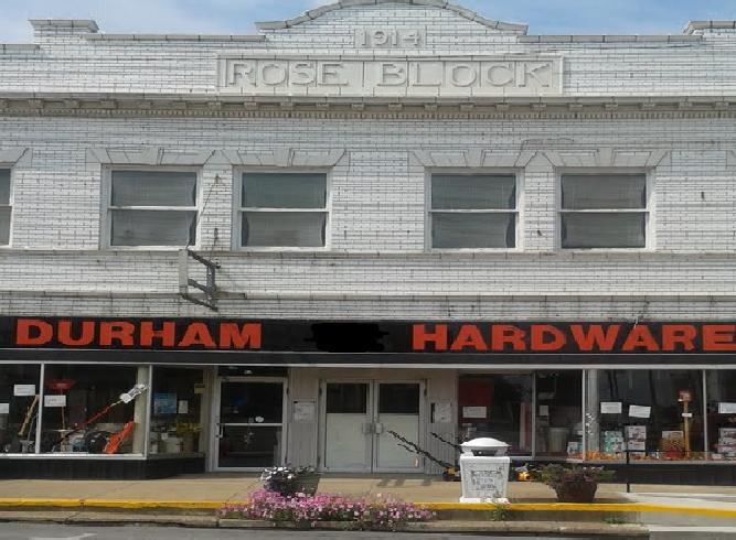Durham's Hardware: 111 N Main St, Harrisburg, IL