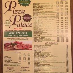 Photos For Pizza Palace Menu Yelp