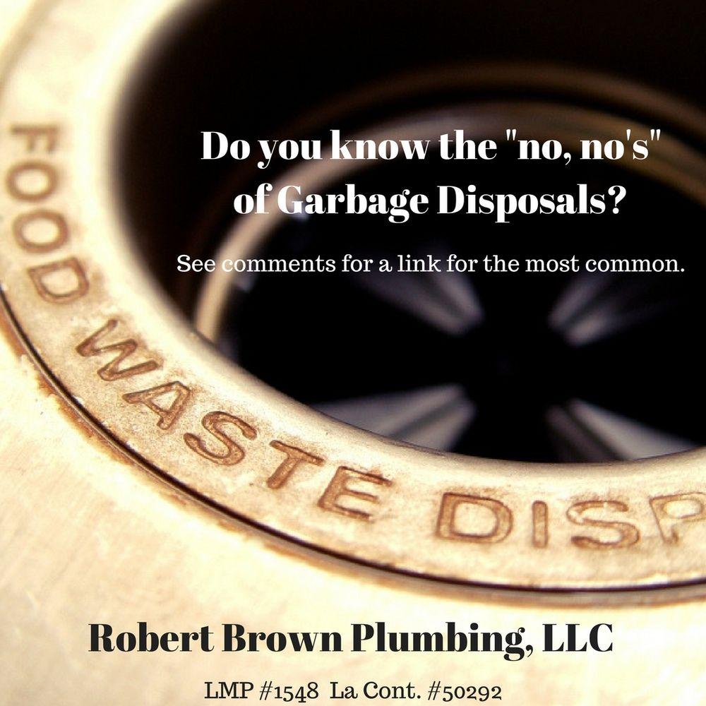 Robert Brown Plumbing: 4801 Hazel Jones Rd, Bossier City, LA