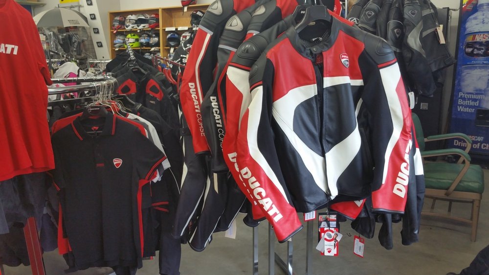 Barnett's Suzuki Ducati