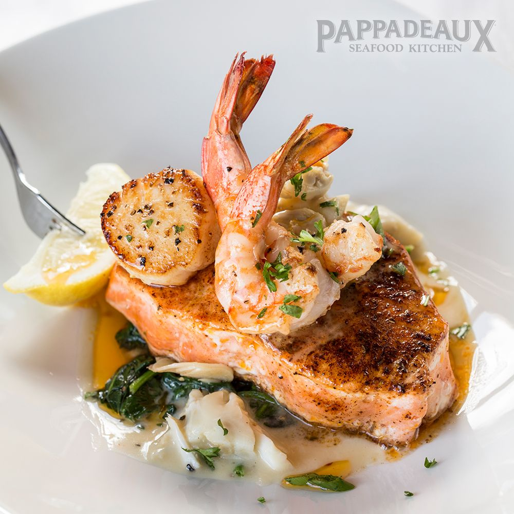Pappadeaux Seafood Kitchen: 4040 I-10 S, Beaumont, TX