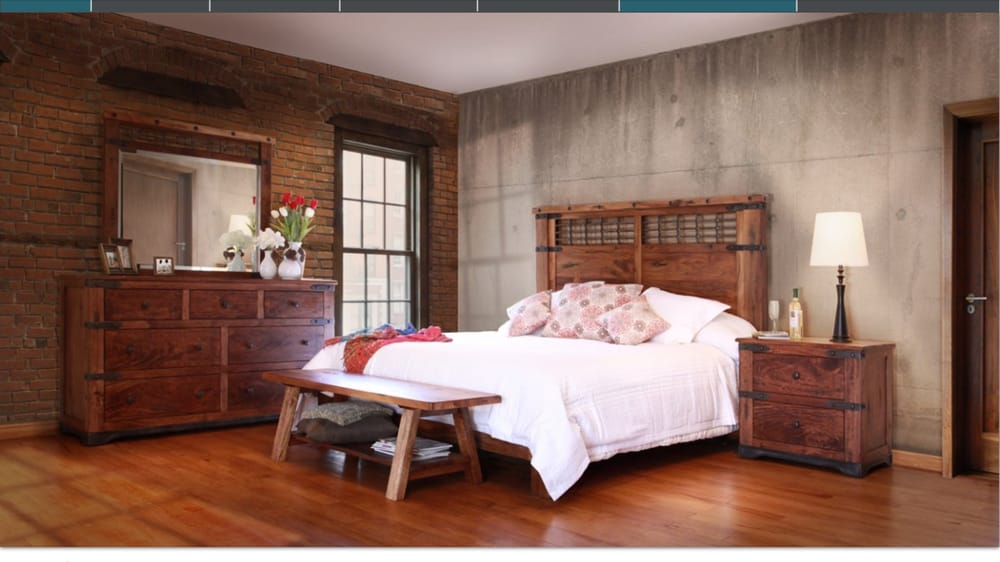 Solid Wood Rustic Bedroom Furniture by Artisan - Yelp