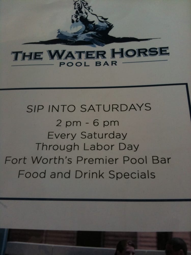 Waterhorse Pool Bar