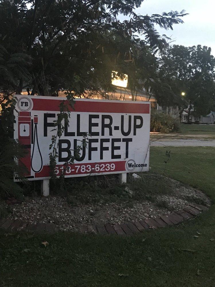 Filler Up Buffet: 1011 S Van Buren St, Newton, IL