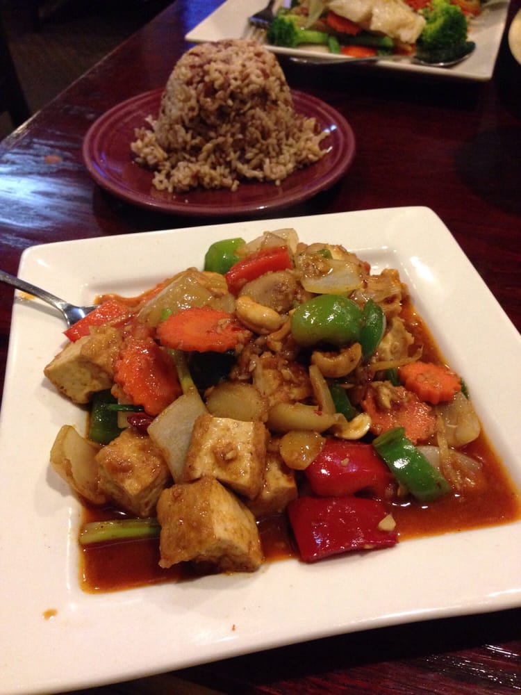 Cashew nut tofu yelp for Amarin thai cuisine