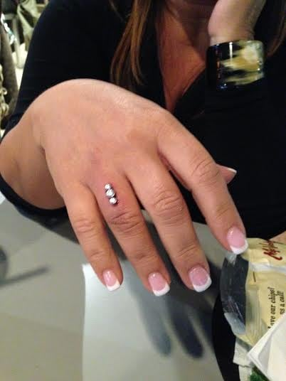 Finger Piercing By Amy At Starlight In The Mirage Yelp