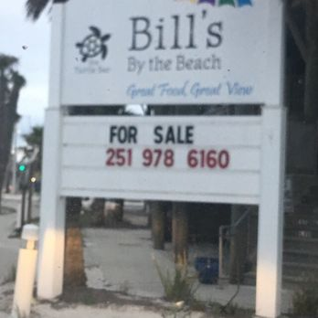 Bill's By the Beach - CLOSED - 300 W Beach Blvd, Gulf Shores, AL
