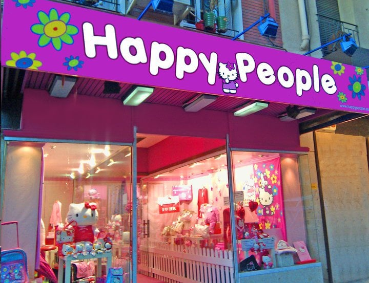 Happy People Hello Kitty