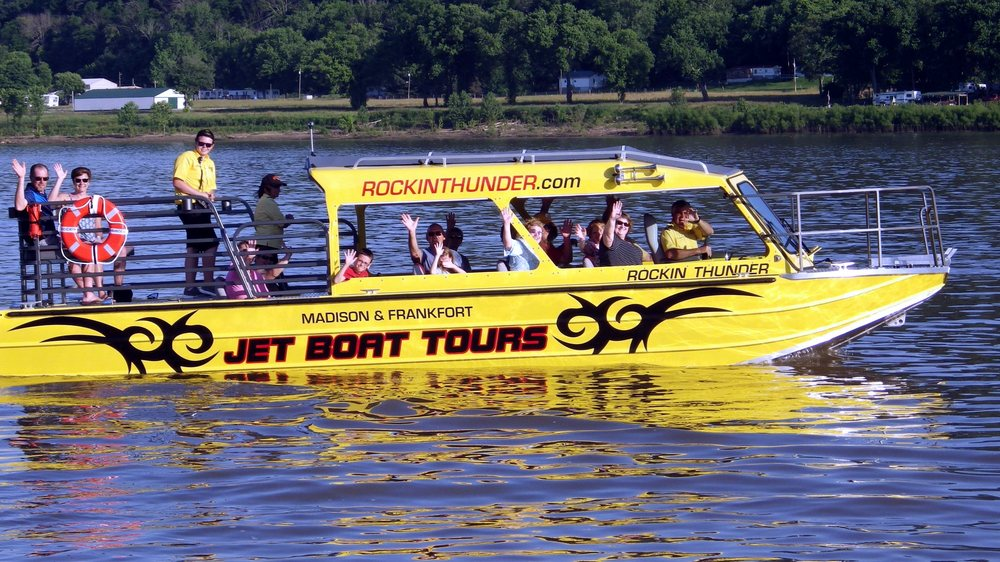 Rockin' Thunder Jet Boat Rides: 100 E Vaughn Dr, Madison, IN