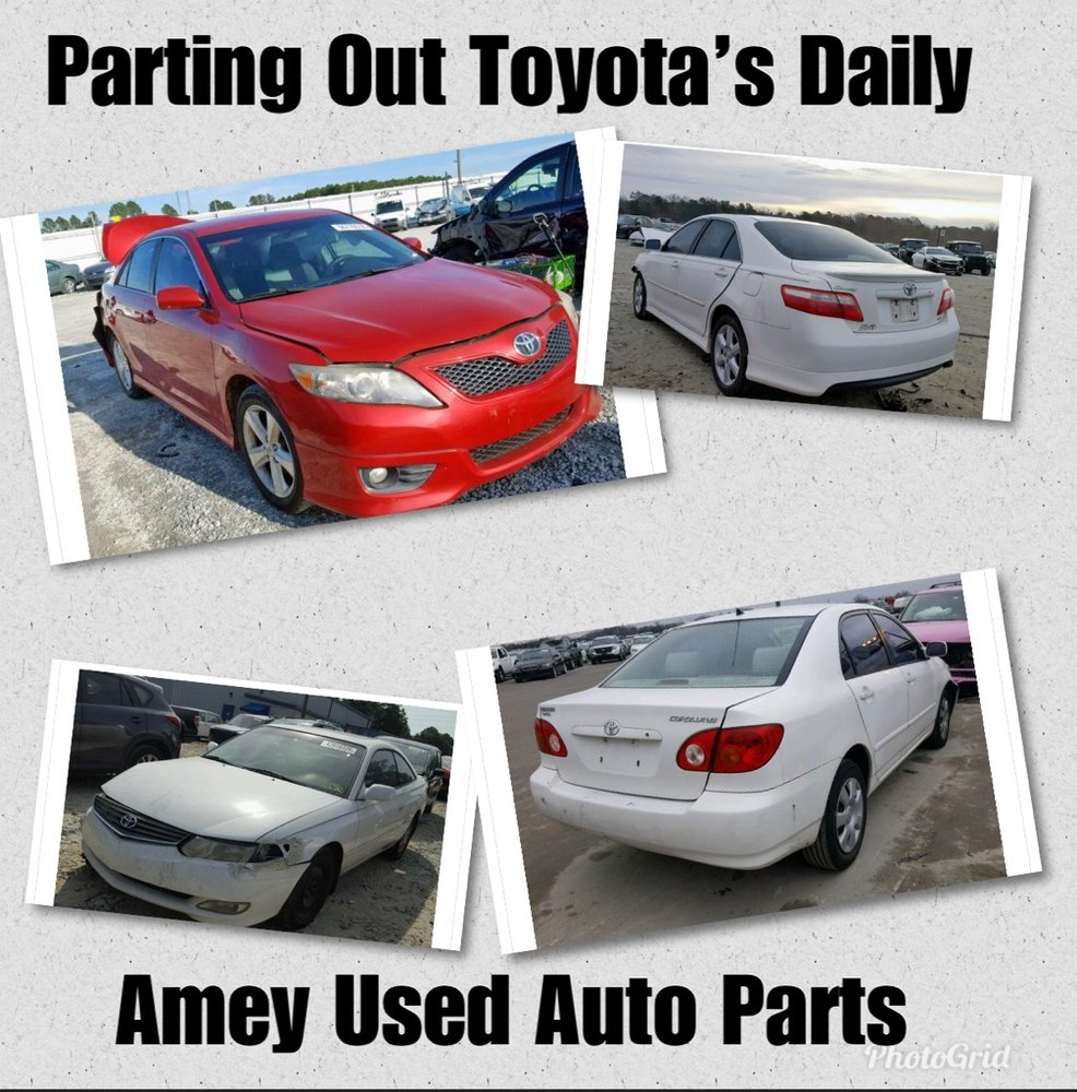 Amey Used Auto Parts: 4100 Bonsal Rd, Conley, GA