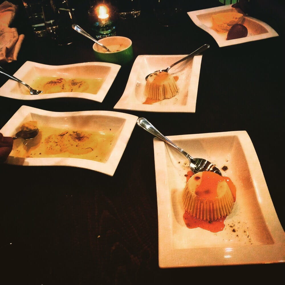 These fine desserts marked the perfect end to an evening for Aroma fine indian cuisine toronto on canada
