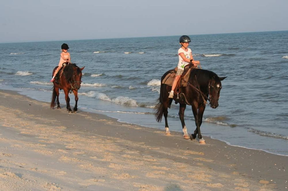 Two bit stable horseback riding on the beach 20 photos for Places to go horseback riding near me