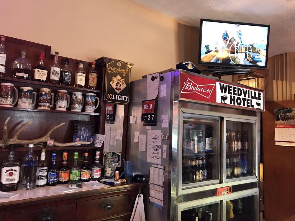 Weedville Hotel: Weedville, PA