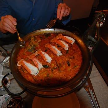 Restaurant Paella Odeon Paris