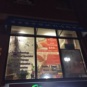 Asian massage chinatown