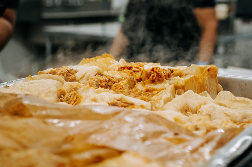 Food from The Tamale Store