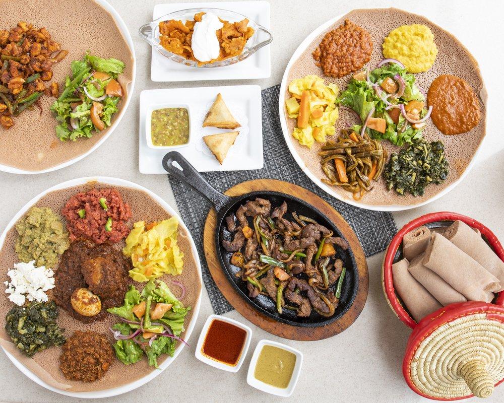 Shebelle Ethiopian Cuisine & Bar: 17194 Preston Rd, Dallas, TX