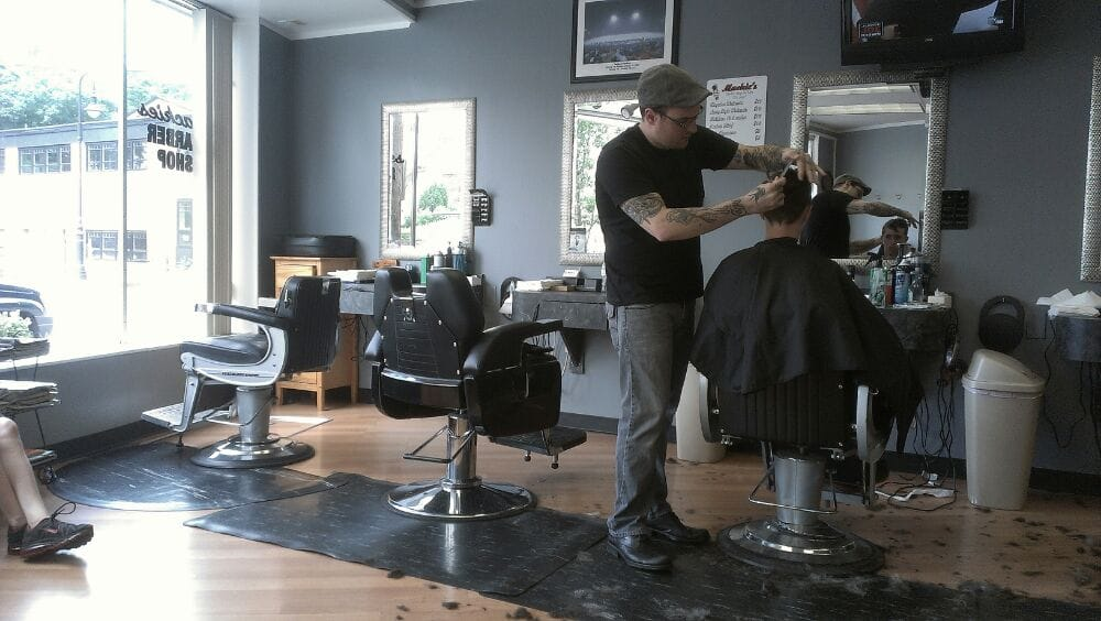 Mackie's Barber Shop: 20 Central Ave, Milton, MA
