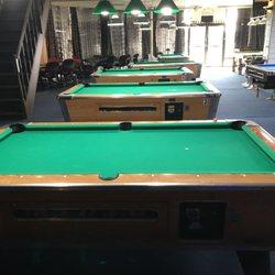 Q Ball Snooker Pool Hookah Bar Photos Pool Halls - Pool table movers katy tx