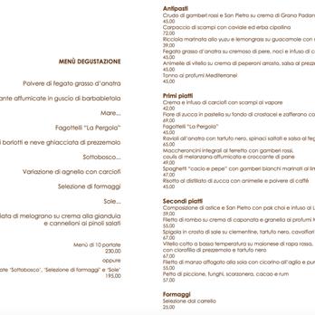 La pergola 259 foto e 56 recensioni cucina italiana for La pergola prezzi