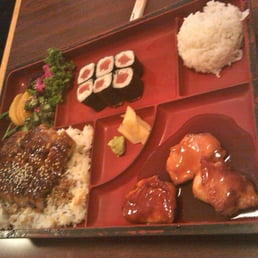 Sho Chiku Sushi - Pomona, NY, United States. Eel dinner box - $17.95 (also comes with soup and salad)
