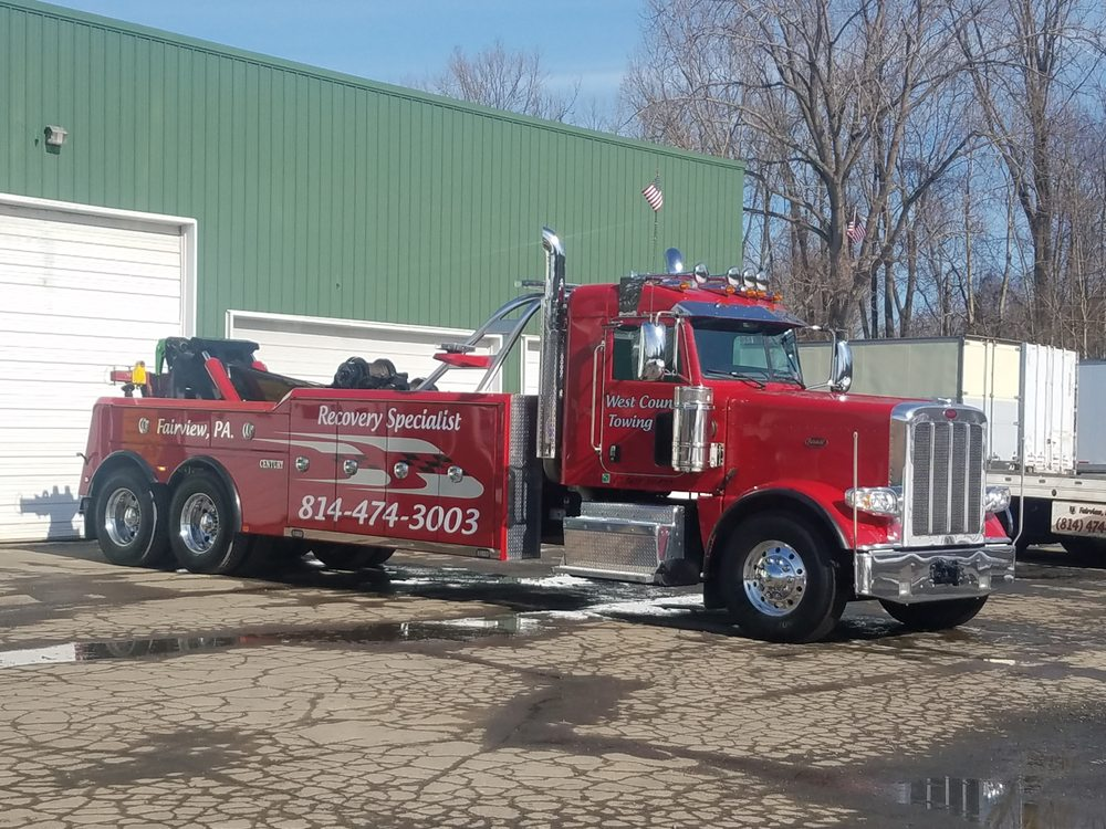 Towing business in Fairview, PA