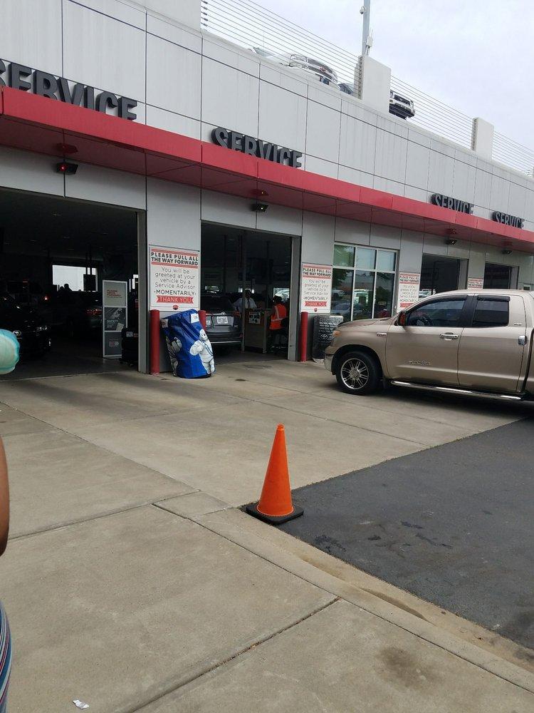 Scott Clark Toyota Service